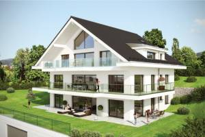 Villa with 3 apartments