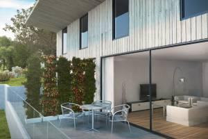 Terrasses privatives