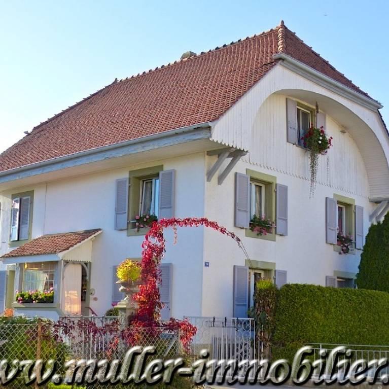 Autigny maisons sur propri t s de suisse les offres for Maison luxe suisse