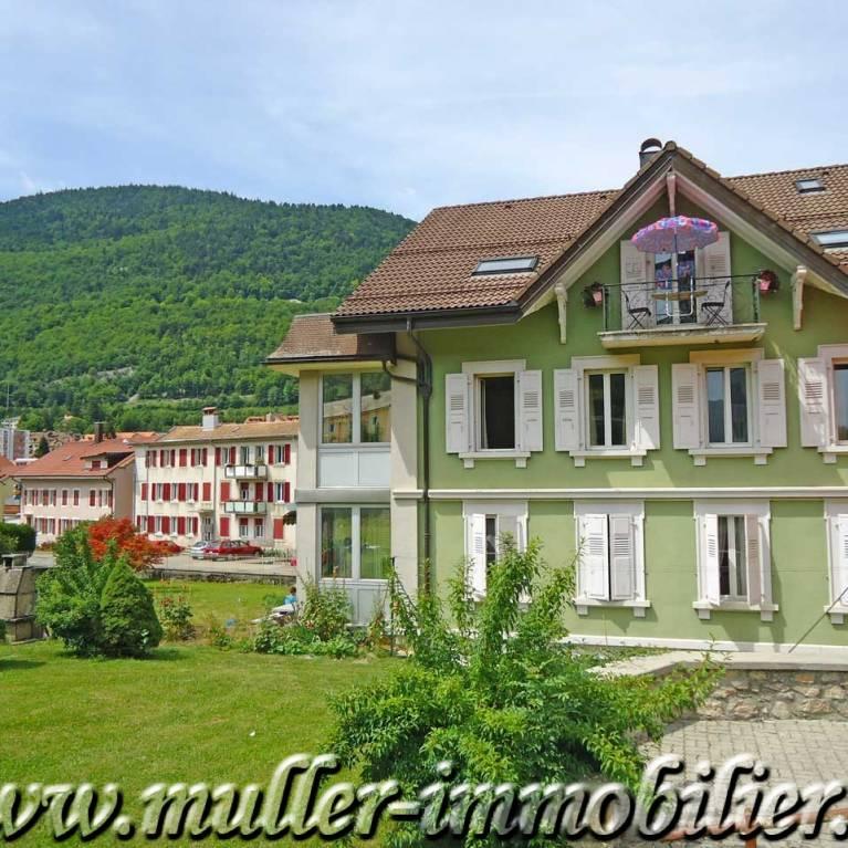Ballaigues maisons sur propri t s de suisse les offres for Maison luxe suisse