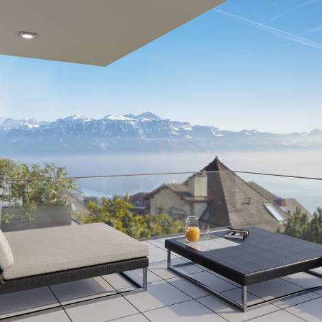 apartment, house and property for sale in Pully Switzerland