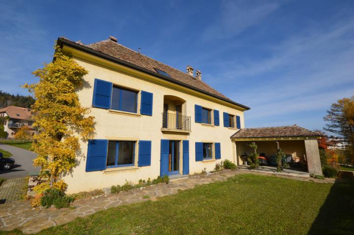 Annonces immobilier vendre en suisse maison 10 5 pi ces for Chambre a louer yverdon