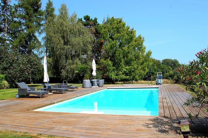 Annonces immobilier vendre en suisse maison 10 pi ces for Cheserex piscine