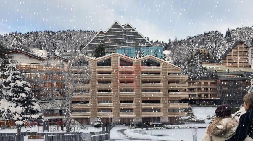 Vue façade sud hiver