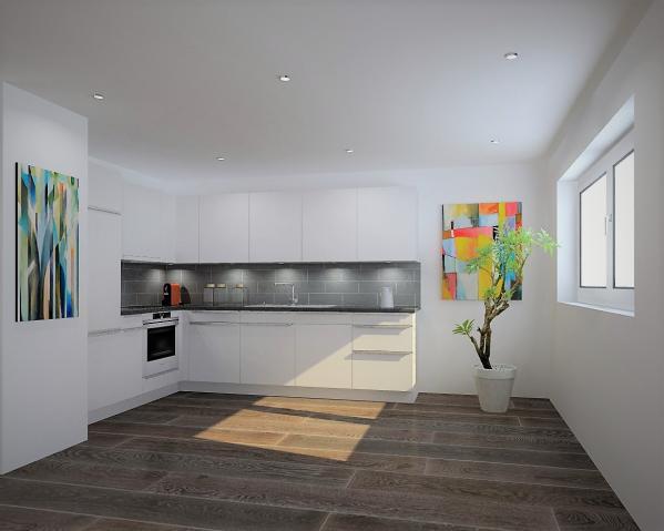 La cuisine type des appartements 2 p.