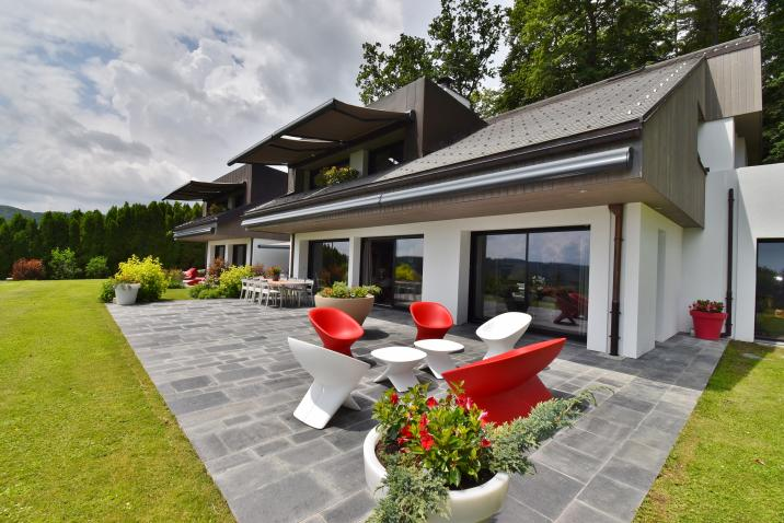 THE terrace of the day area
