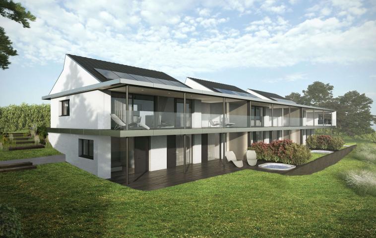 Résidence à l'architecture élégante