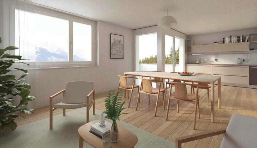 Appartements neufs à Crans Montana