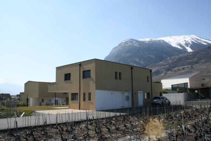 Vue Sud-Est Promotion - Accès villa individuelle