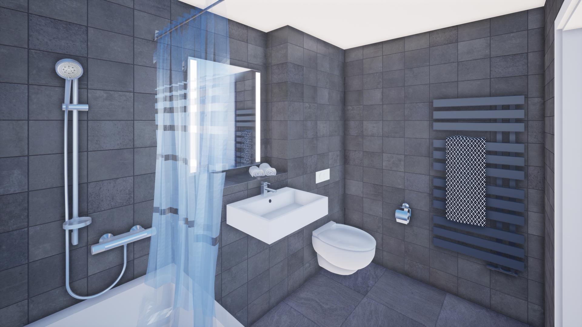 Salle De Bain 4.5 M2 a vendre appartement 4.5 pièces à mannens - helveticimo