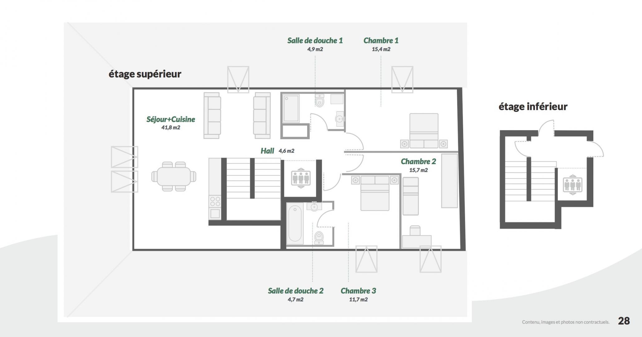 Salle De Bain 4.5 M2 a vendre appartement 4.5 pièces à cortaillod - centrum immo