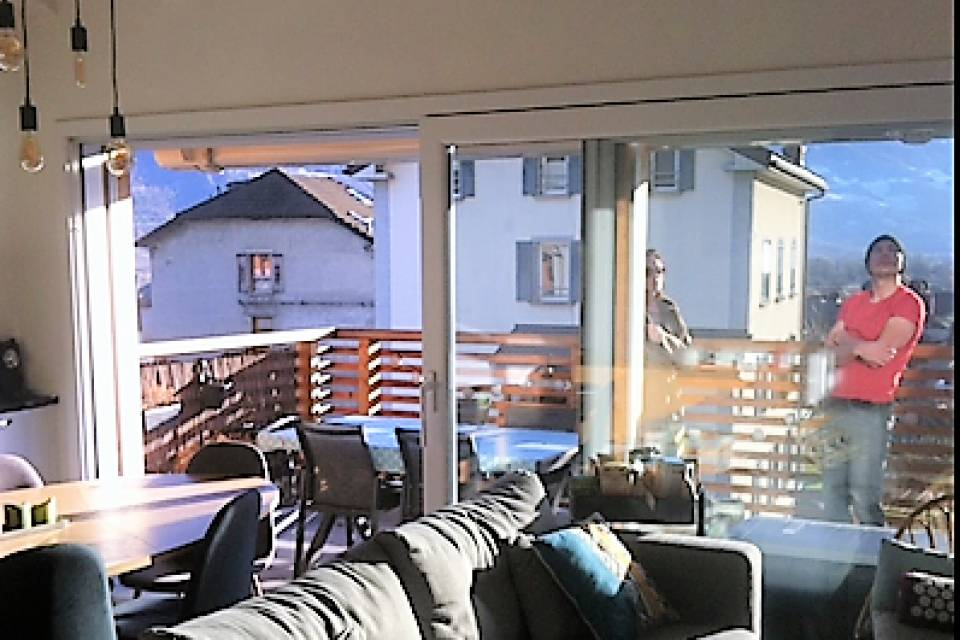 Salon accès terrasse