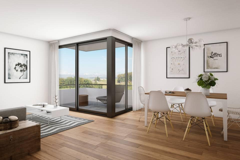 Farvagny / Appartement de 3.5 pièces