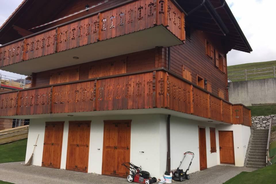 Duplex 5.5 pièces à Charmey (Gruyère)