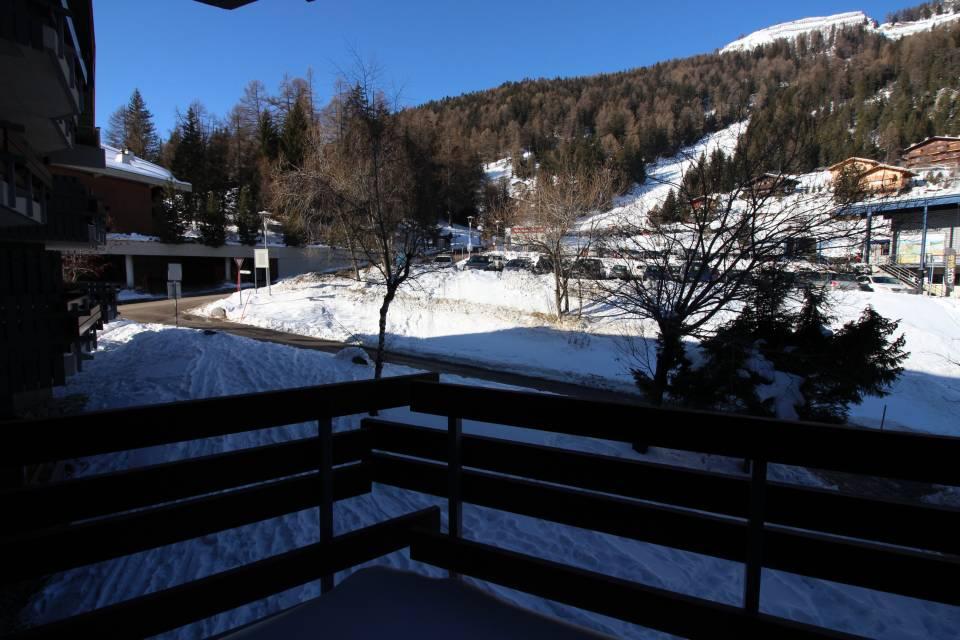 Blick nach Norden vom Balkon