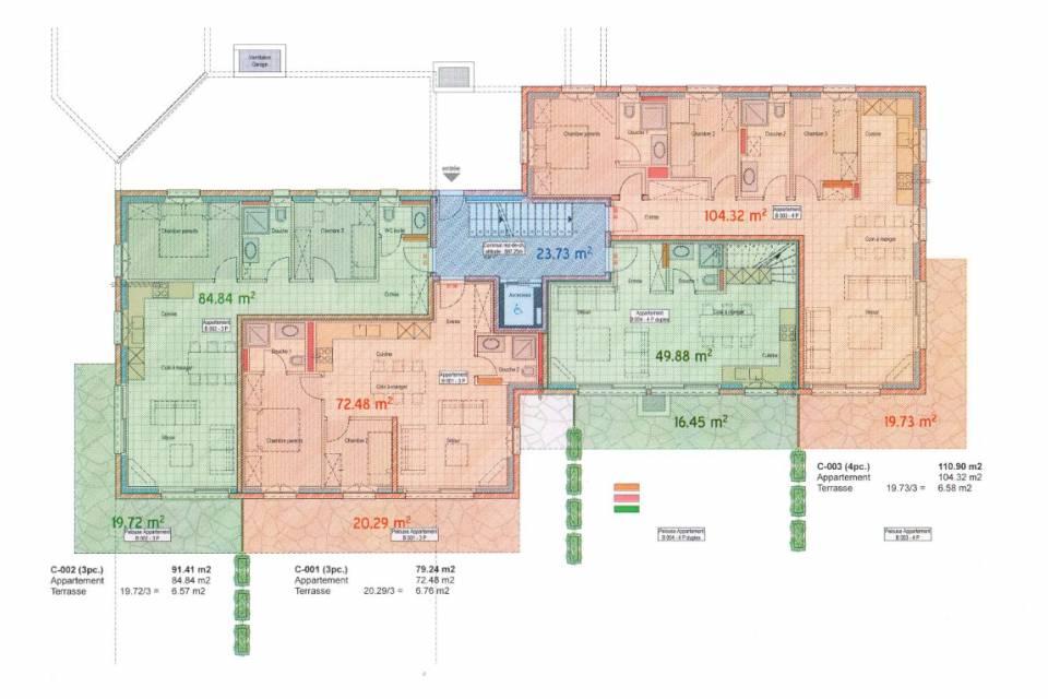 Duplex 4.5 pièces à Versegères