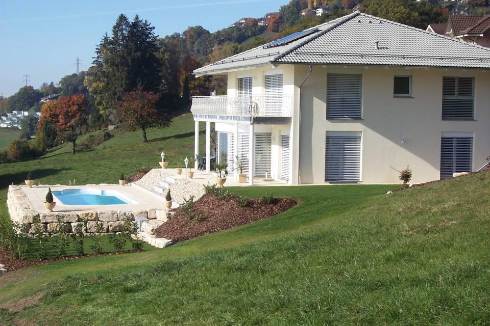 Villa Individuelle 5.5 pièces à Riaz