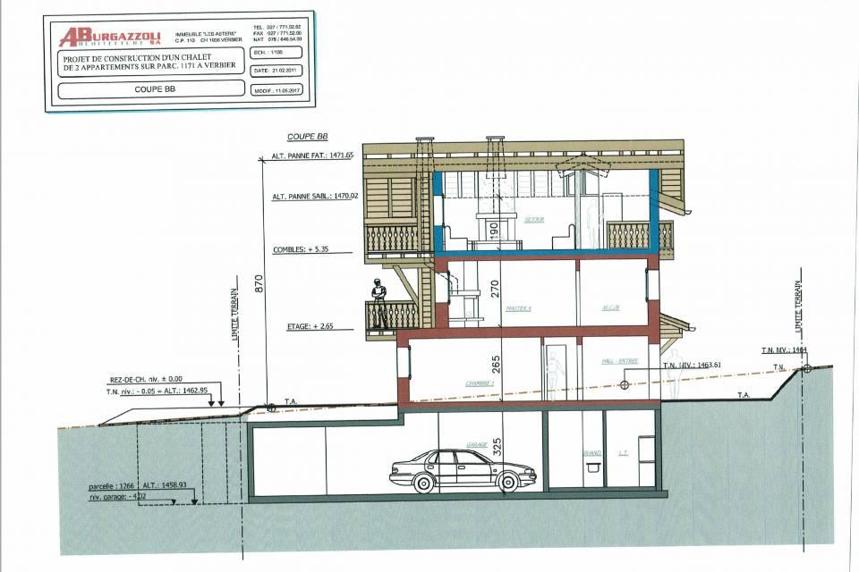 Duplex 5.5 pièces à Verbier