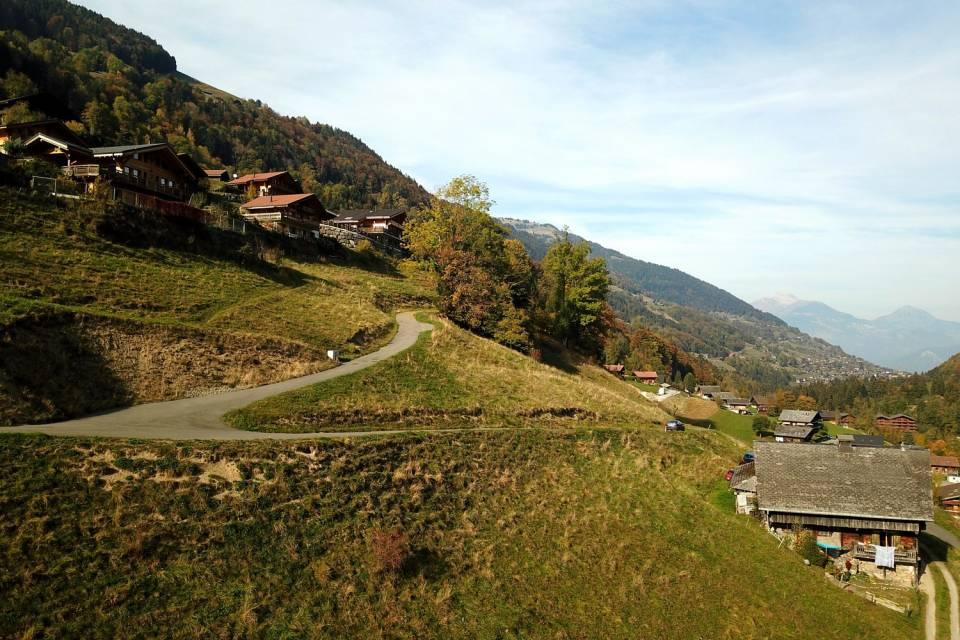 Terrain à Val-d'Illiez