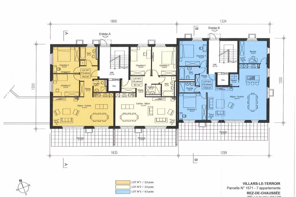 Appartement 3.5 pièces à Villars-le-Terroir