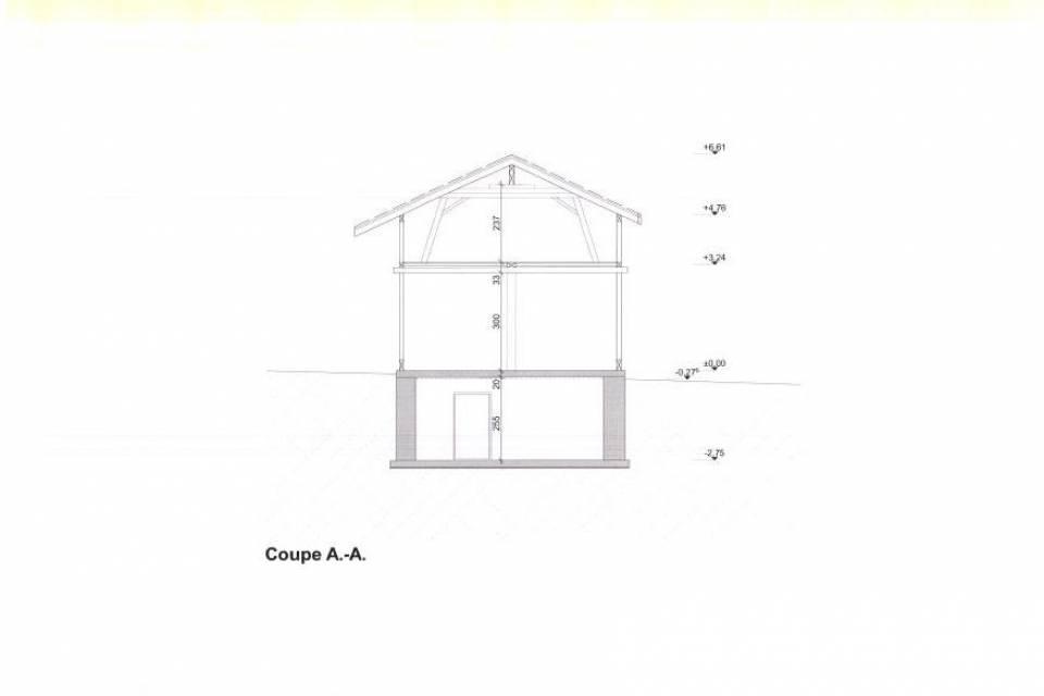 Grange 1 pièce au Châble VS
