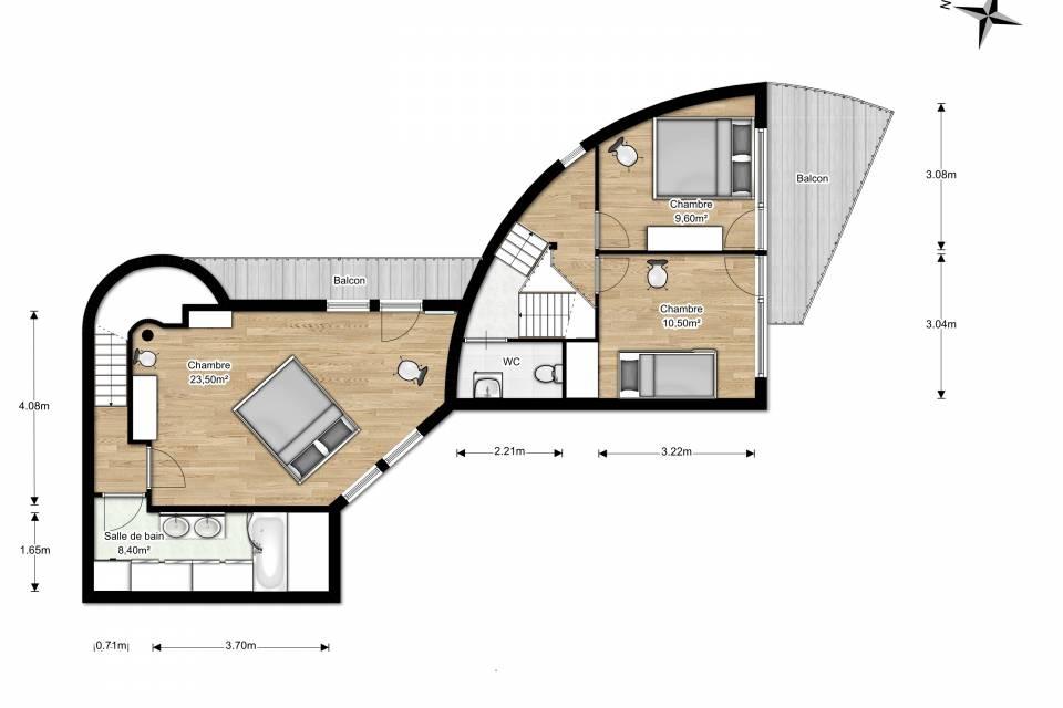 Maison de Village 6.5 pièces à Martigny