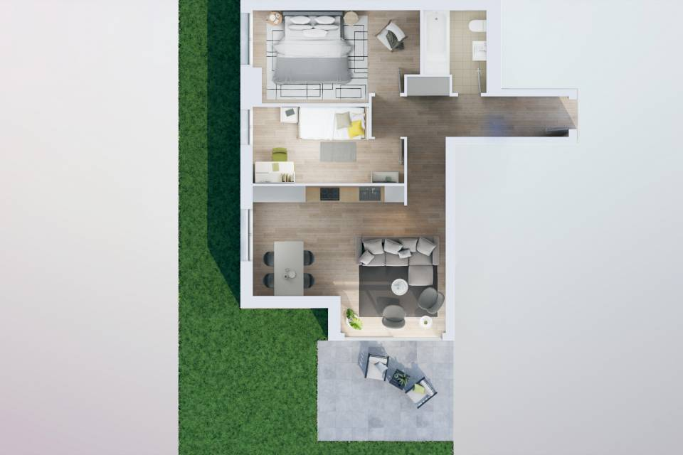 Appartement 3.5 pièces à Penthaz