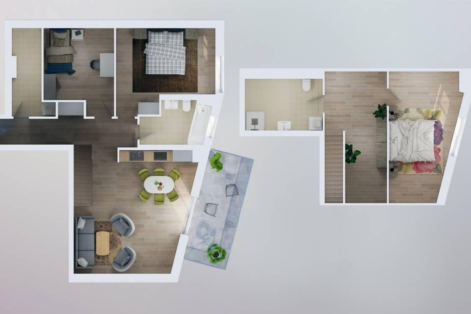 Appartement 4.5 pièces à Penthaz