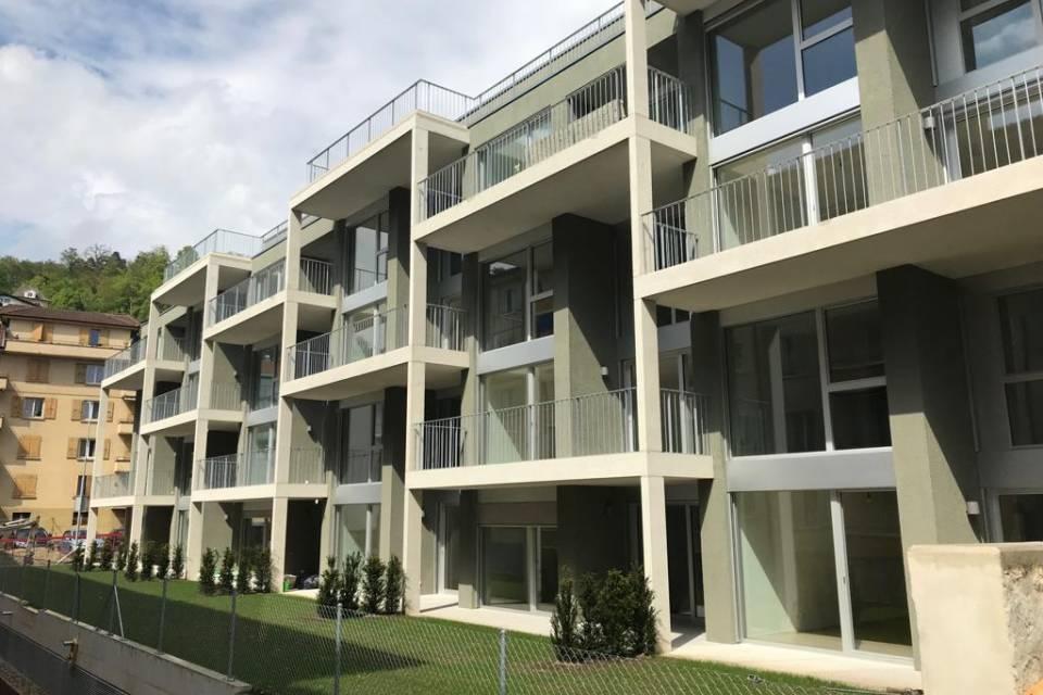 Duplex 4.5 pièces à Peseux