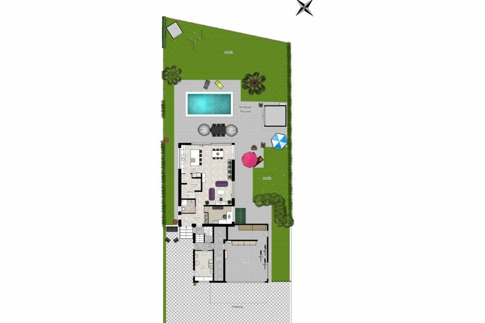 Villa Individuelle 8 pièces à Fully