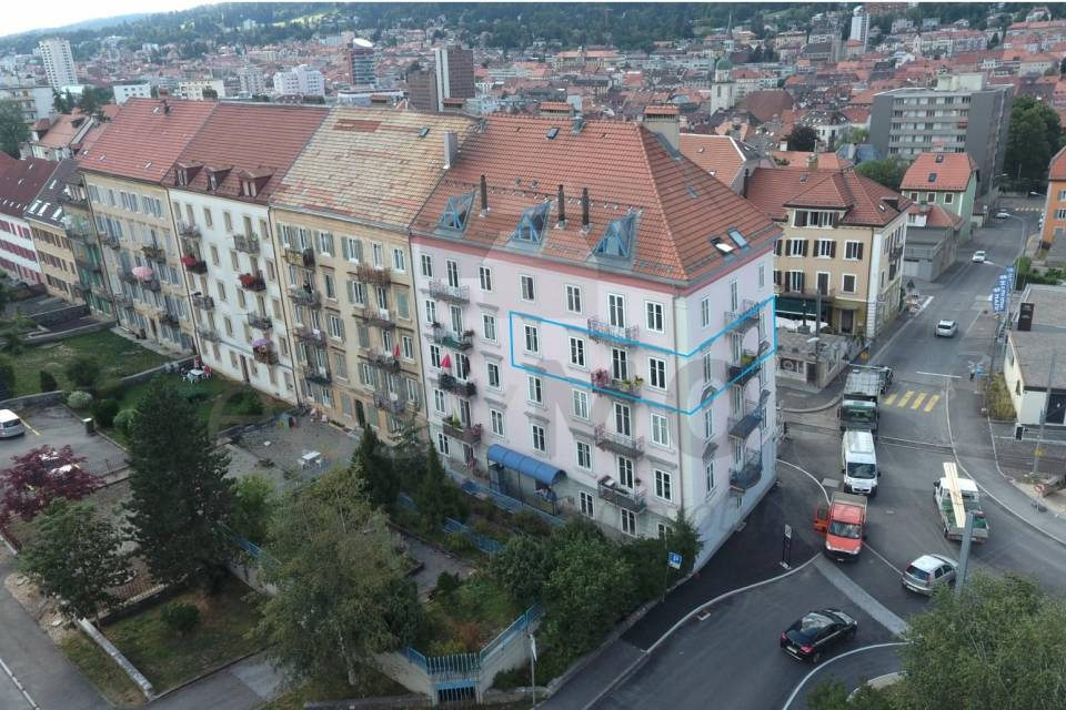 Appartement 4.5 pièces à La Chaux-de-Fonds