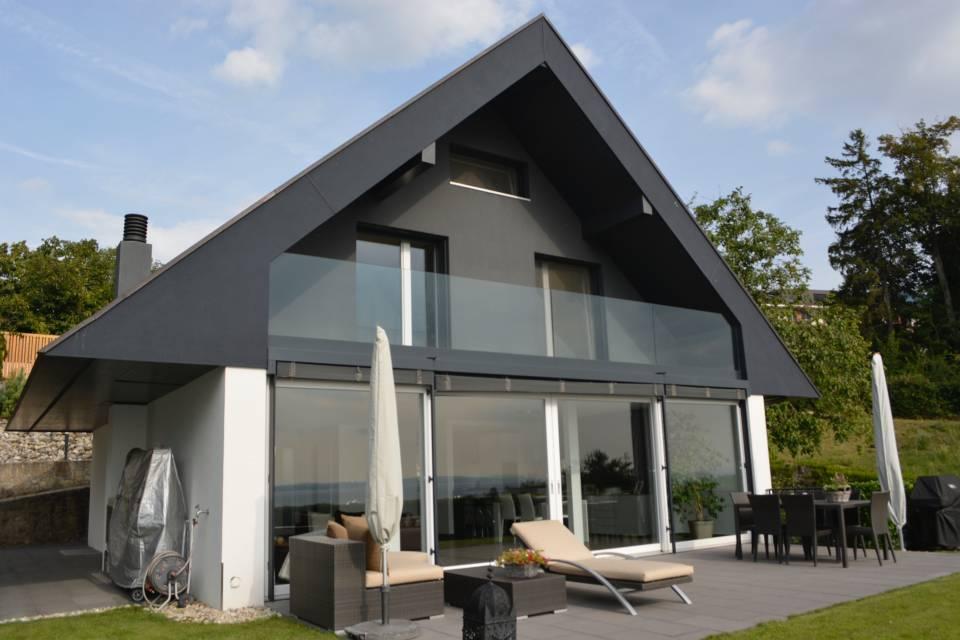 Villa Individuelle 5.5 pièces à St-Aubin-Sauges