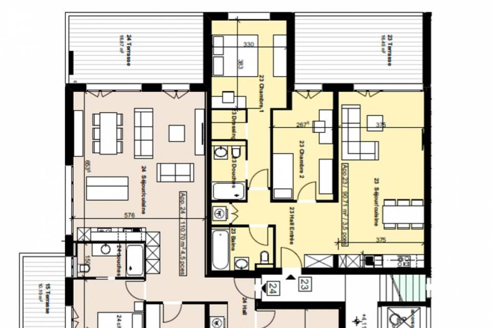 Appartement 3.5 pièces à Chamoson
