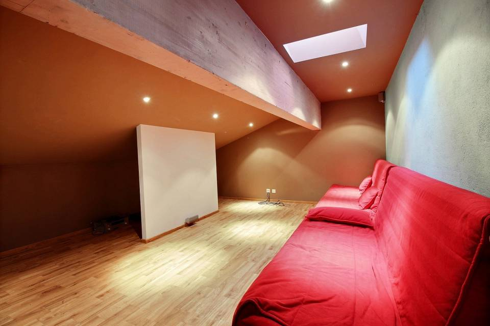 Space under roof- Home Cinema
