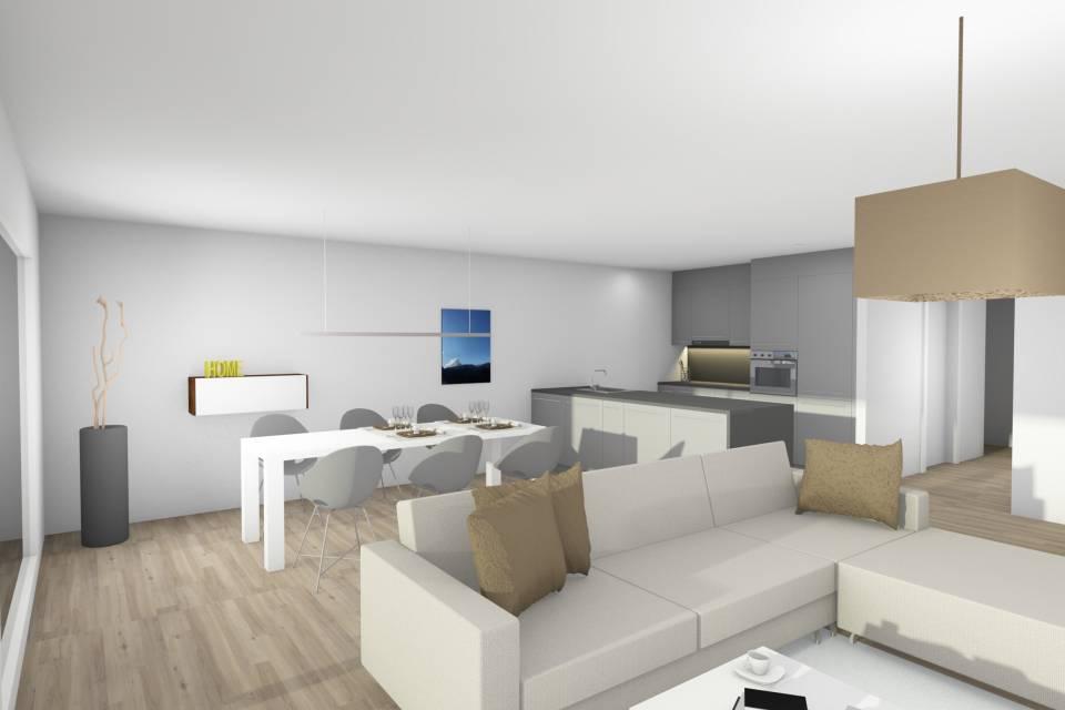 Villa contigüe 5.5 pièces à Châtel-St-Denis