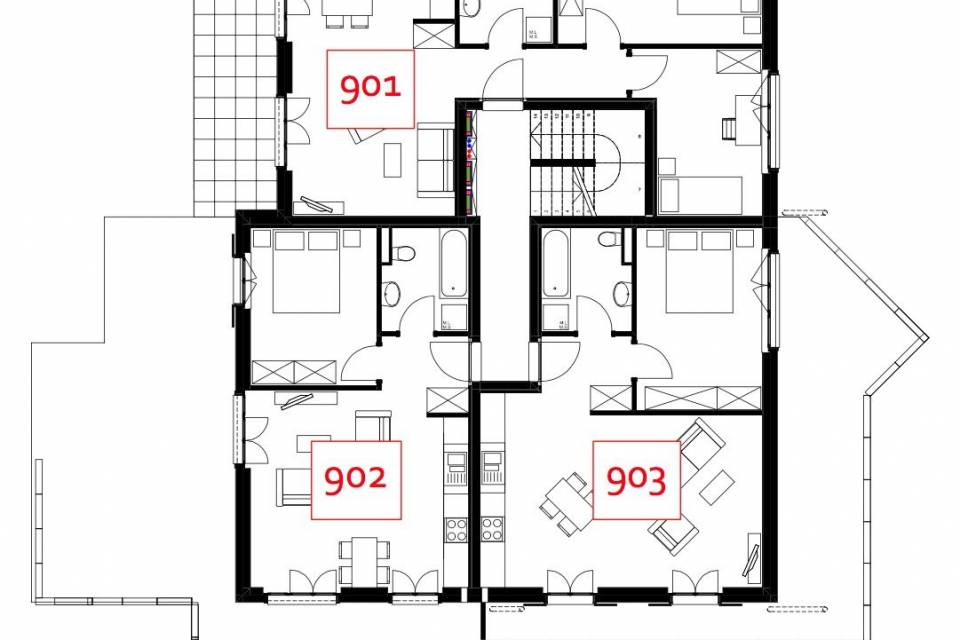 Appartement 2.5 pièces à Troistorrents