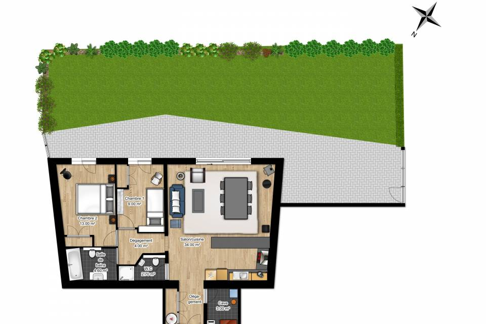 Appartement 3.5 pièces à Champex-Lac