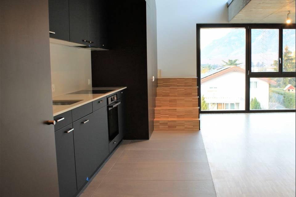 Duplex 2.5 pièces à Ardon