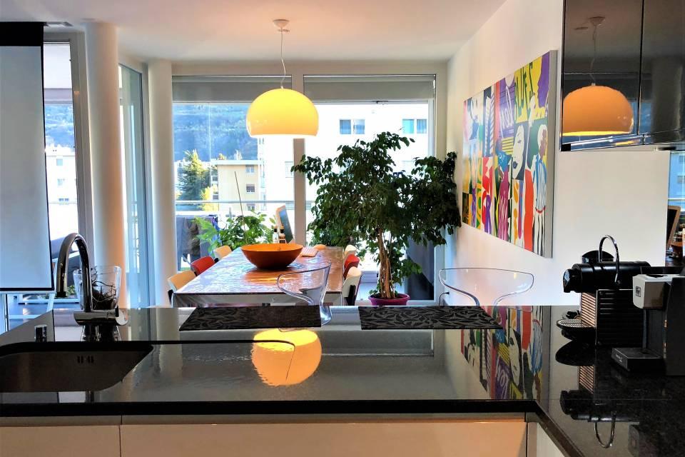 Wohnung 4,5 Zimmer in Conthey