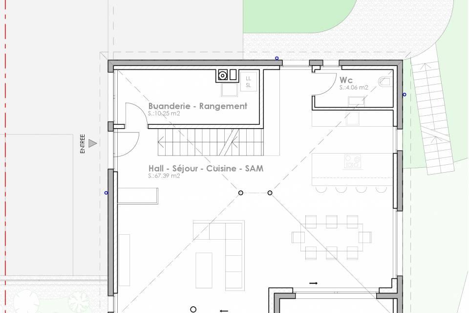 Cormondrèche / Maison de 4.5 pièces