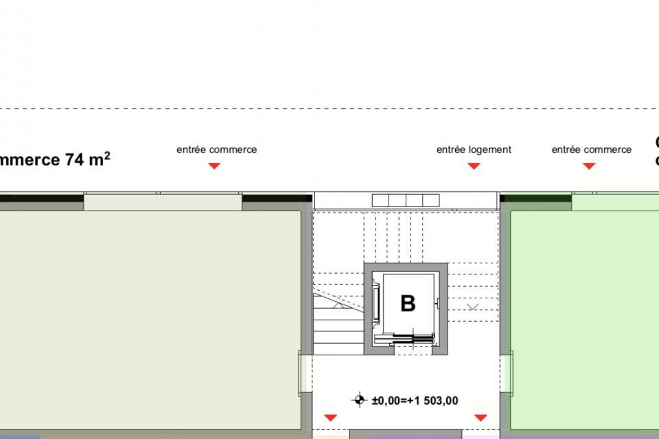 Administratif/Bureau 1 pièce 74 m2 à Crans-Montana