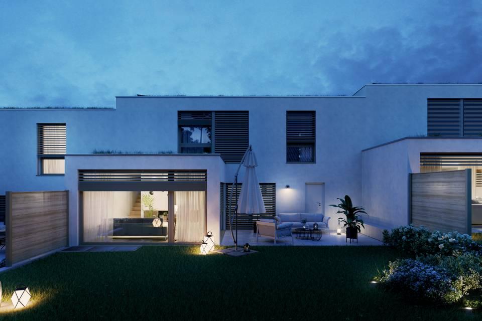 Villa jumelle par garages 5 pièces à Vésenaz