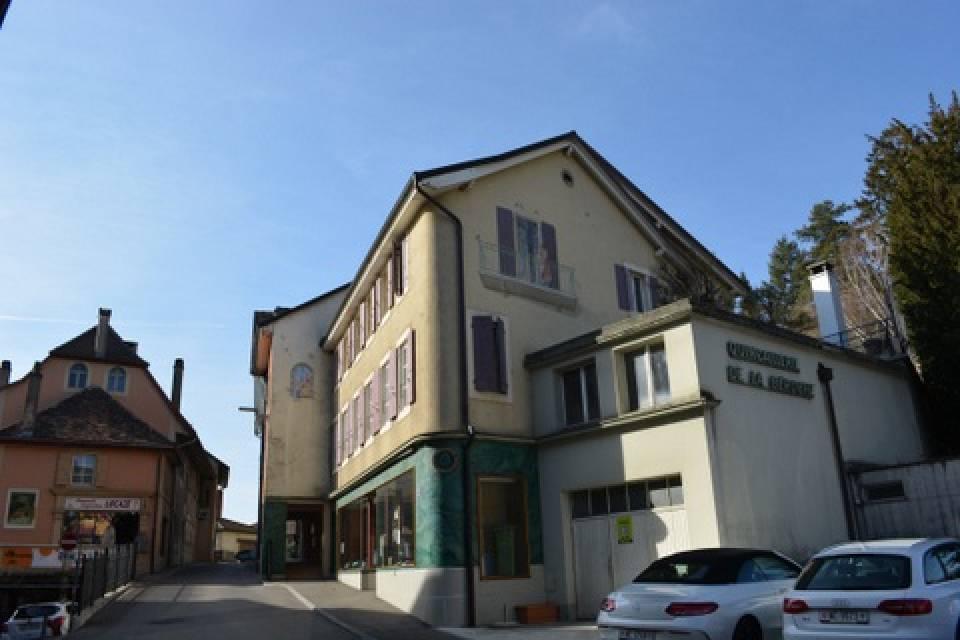 St-Aubin-Sauges / Immeuble