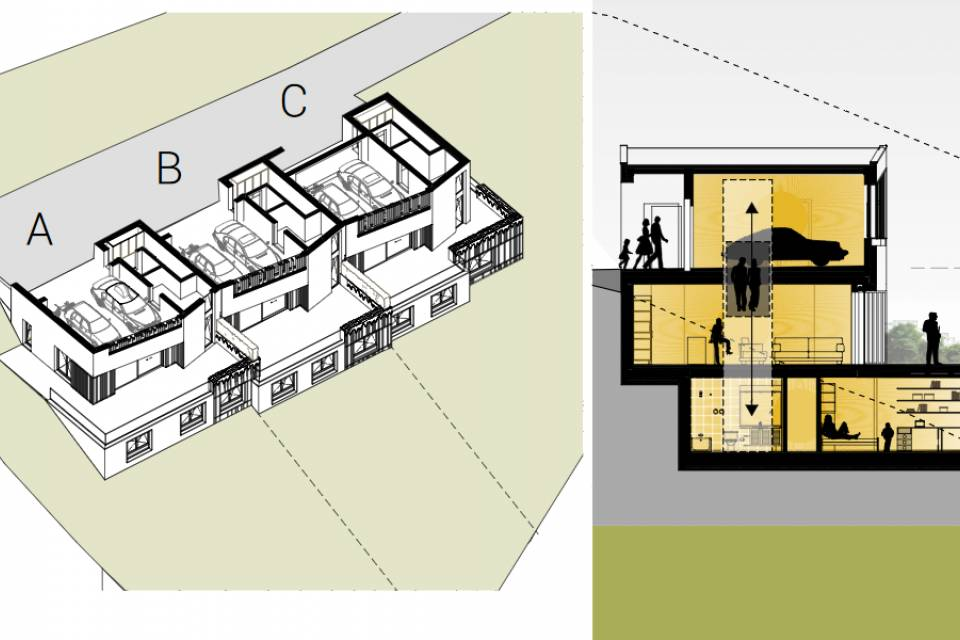 Duplex 4.5 pièces à Sierre
