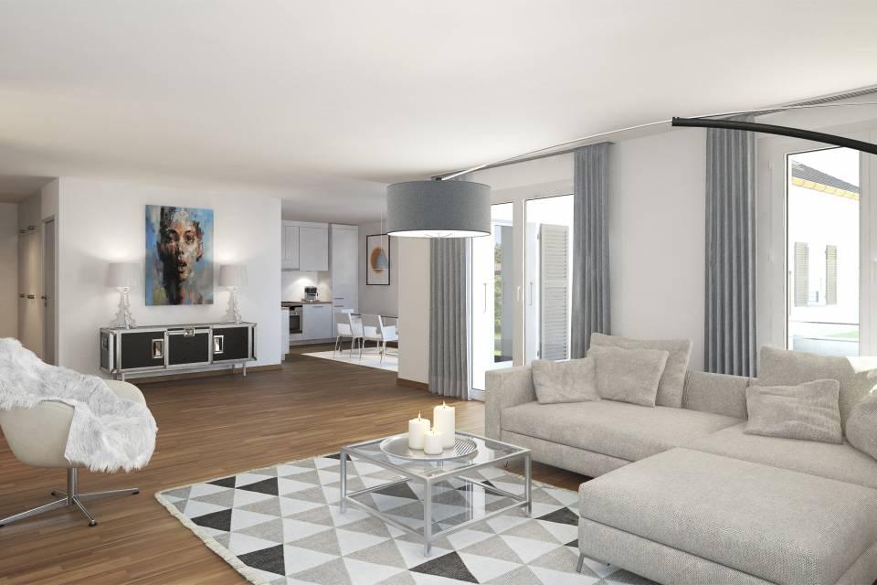 Appartement 3.5 pièces à Cuarnens