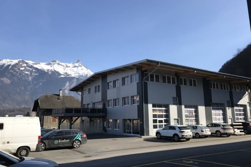 Administratif/Bureau 1 pièce 18 m2 à Massongex