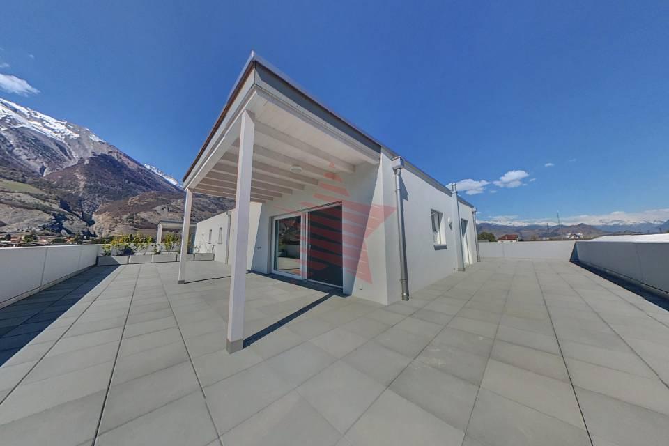 Terrasse attique