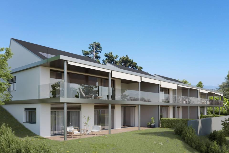 Appartement en terrasse 5.5 pièces à Crans-près-Céligny