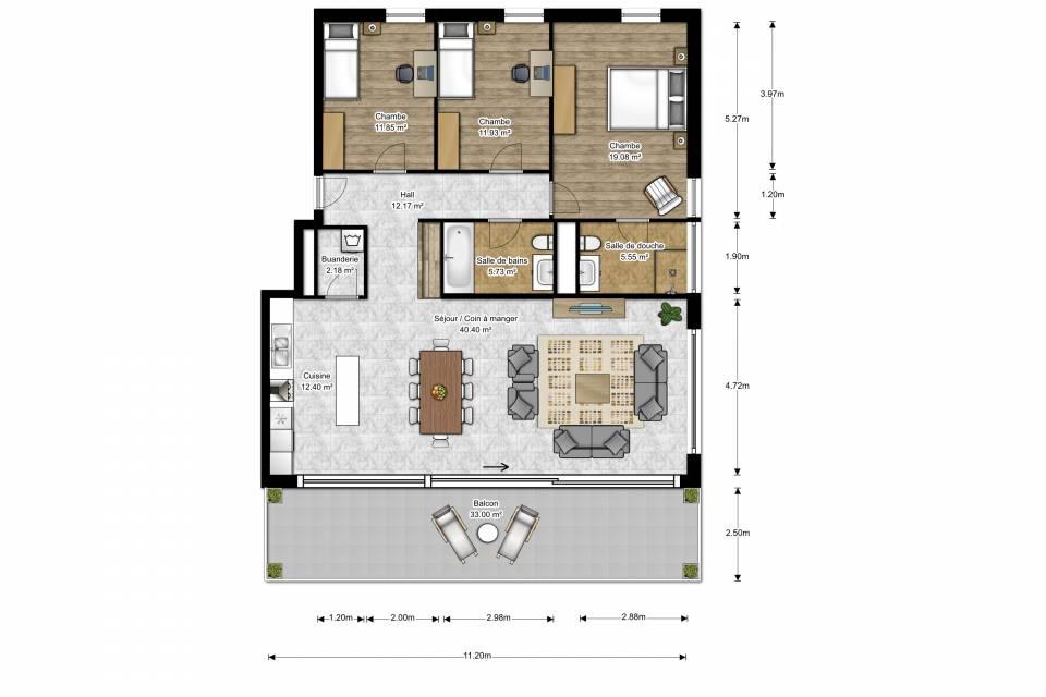 La Sagne NE / Appartement de 4.5 pièces