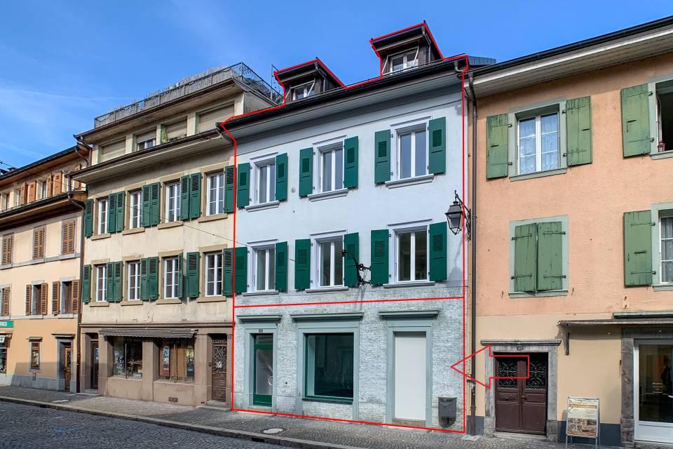 Administratif/Bureau 1 pièce 36 m2 à Villeneuve VD